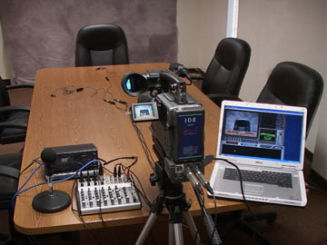 videotaped deposition equipment